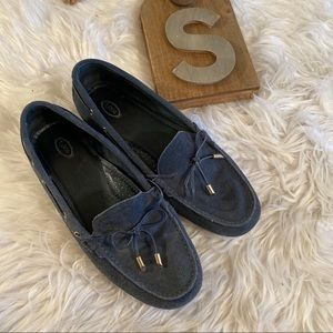 Tods Navy Sz 41 Driving Slip On Loafers